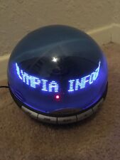 Olympia Info Globe Digital Caller ID with Real Time Clock Floating Msgs OL3000