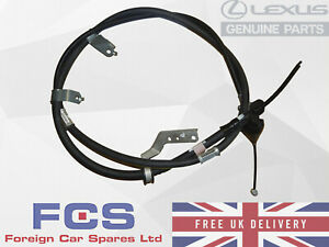 *NEW* GENUINE LEXUS RX300 HARRIER HANDBRAKE CABLE REAR RIGHT 46420-48171