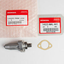 Genuine Honda Cam Chain Tensioner Lifter & Gasket 14520-MBW-J24, 14523-MAL-A01