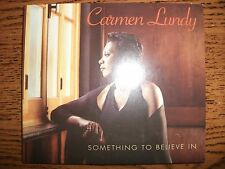 Carmen Lundy-Something to Believe In-2003 Just In Time!