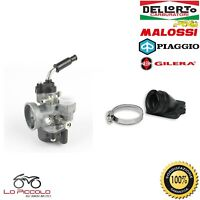 CARBURATORE DELL'ORTO PHVA 17.5 + COLLETTORE MALOSSI VESPA ET2 50 2T