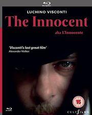 THE INNOCENT (L'Innocente) di Luchino Visconti BLURAY in Italiano NEW .cp