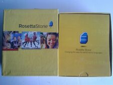 Rosetta Stone French Level 1 Version 3 PC & Mac MP3 New Headphones Home School