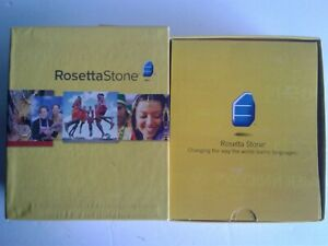 Rosetta Stone French Level 1 Version 3 PC & Mac MP3 New Headphones Home School