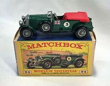 Matchbox Y-5 Bentley Blower 1929 NrMIB Models of Yesteryear MOY