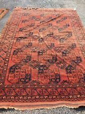 Antique Oriental Rug - 7x10 - handmade - wool