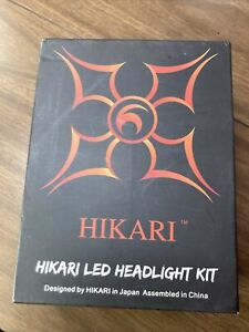 Hikari LED Headlight Bulbs R8-H1 Conversion Kit  Lightning Beam System 2 Bulbs
