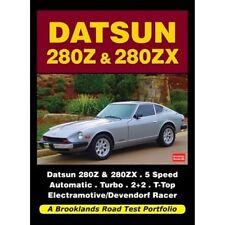 Datsun 280Z & 280ZX Road Test Portfolio book paper