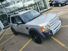 Manual Land Rover Discovery 3 GS 2.7L TDV6 Diesel Silver 7 Seater 55 Plate