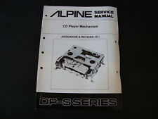 Original Service Manual Alpine CD Player Mechanism