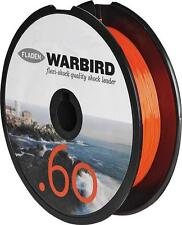 WARBIRD SHOCK LEADER 50lb ORANGE LINE BEACHCASTER & MULTIPLIER REELS AND RIGS