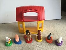 Playmobil 123 Farm Animals And Barn Bundle