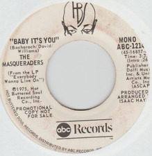 MASQUERADERS - BABY IT'S YOU ABC Promo white label (mono/stereo)
