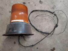 Working Preco 3814 Flash Strobe Emergency Light Beacon 12v24v Snow Plow Amber