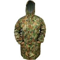 TACTICAL AUSCAM DPCU SIZE XLARGE RAIN JACKET 100% WATERPROOF TAPED SEAMS