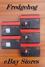 5 X Sony DVM-60 Mini Dv VIDÉO CAMÉSCOPE CASSETTES/CASSETTES-Qualité Premium
