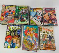 HUGE Mixed Lot 171 90s Comics Superman/Superboy/Spiderman, Fallen Angels, Demon