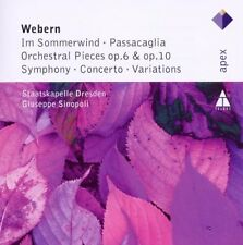 Staatskapelle Dresden - Webern In Sommerwind Orchestral Pieces Variations [CD]
