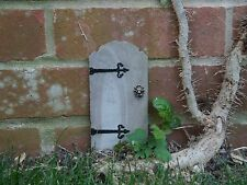 * Real Stone Miniature Fairy Door for Fairies, Elves & Pixies! *
