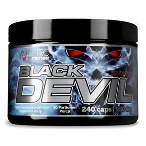 HI TEC Black Devil 240 Caps DAA TRIBULUS MACA ZMA, ANABOLIC TESTOSTERONE BOOSTER