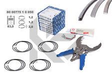 4x anelli pistone kit di riparazione 800077510050 + 0,50 mm SKODA VW AUDI 1,8