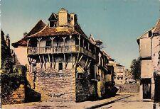 BR50844 Salies de bearn vieilles maisons au bord du saleys     France