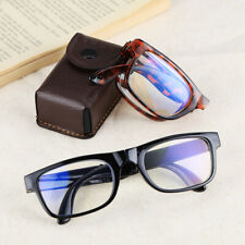 Folding Reading Glasses Anti Blue Light Presbyopic Glasses with Case Portable