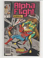 Alpha Flight #74 Northstar Guardian Puck Spiderman 9.4