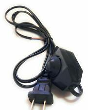 New! Light dimmer Cord wire Plug Power dimming Button switch 5.9ft,110-220V