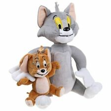 Cat & Mouse Cartoon Soft Toy Tom and Jerry Plush Doll Cute Stuffed Anime Figure