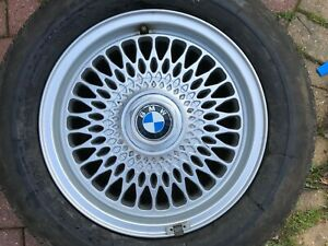 "BMW 3 SERIES E36 STYLE 17 15"" ALLOY WHEEL RIM & TYRE 1180448 7Jx15H2 OEM PART #4"