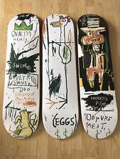 """The skateroom x J.M basquiat Skate Ponts """" qualité viandes pour le public """" Ltd"""