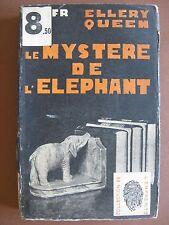 LE MYSTERE DE L'ELEPHANT