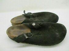 BIRKENSTOCK SANDALS BOYS YOUTH Size 5 Comfort Slip On Black Slippers