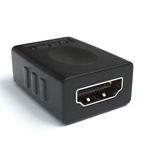 HDMI Verlängerung   HDMI auf HDMI Kopplung Adapter zu Buchse Vergoldete Kontakte