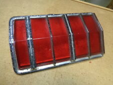 1974 Mercury Cougar Left Hand Rear Tail Panel Red Reflector Piece XR7 Brougham