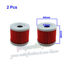 2 Pcs Oil Filter Lifan Zongshen Loncin CB250 150cc 200cc 250cc Pit Dirt Bike ATV