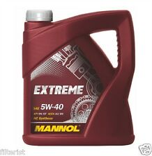 5 Liter Mannol Motoröl Extreme 5W-40 MB229.3; Renault RN0700; Fiat 9.55535-M2