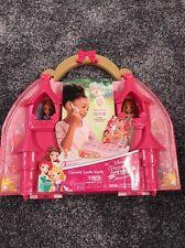 Brand New Disney Princess Cosmetic Castle Vanity 9 Piece Make Up Case