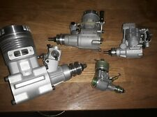 SPECIAL RC ENGINES, Old FOK 25 from 1963!, ASP 30, Magnum xl 61, moki m180