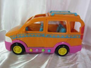 Dora The Explorer Dollhouse Talking Mini Van Fisher-Price Works!