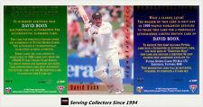 1994/95 Futera Cricket Trading Cards Signature SAMPLE SET--David Boon
