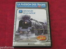 DVD rail Passion des Trains / SEIGNEURS DE LA LOCOMTIVE A VAPEUR la 231 d 735