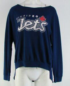 Winnipeg Jets NHL Touch Women's Blue Sweatshirt