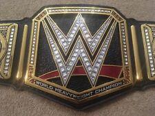 WWE World HEAVYWEIGHT TITLE BELT REAL LEATHER PAUL MARTIN WRESTLING CHAMPIONSHIP