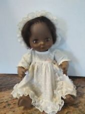 Vintage Horsman Black African American Doll with Sleeping Amber Eyes from 1974