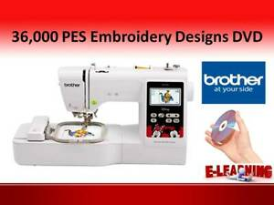 PES Machine Embroidery Designs