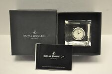 Royal Doulton Radiance Mantle Clock New