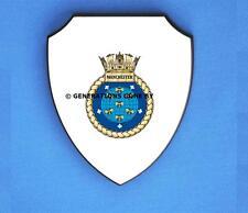 HMS MANCHESTER WALL SHIELD (FULL COLOUR)