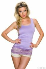 Damen-Longshirten mit Stretch L